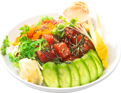 Poke Bowl (Exclude Side)**