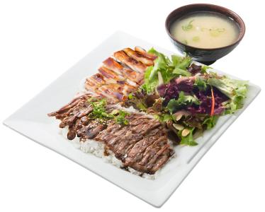 Steak & Chicken Bento