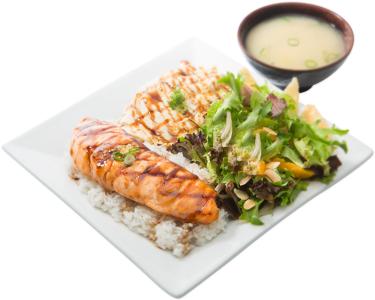 Salmon & Chicken Bento
