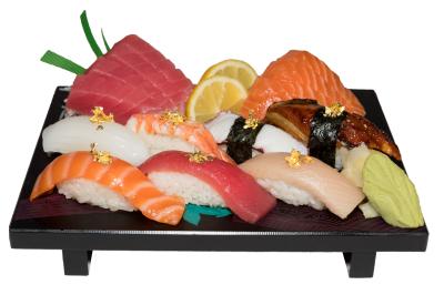 Golden Nigiri & Sashimi Combo