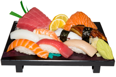 Nigiri & Sashimi Combo(Without Gold)