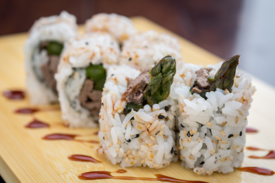 Beef Teriyaki Roll