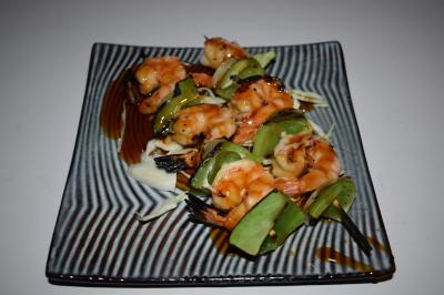 Shrimp Yaki Tori