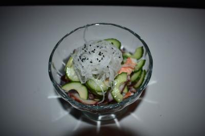 Seafood Sunomono