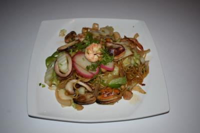 Seafood Yaki Noodle