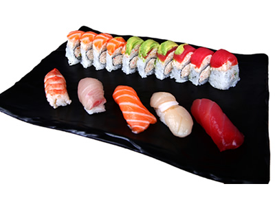 5Pc Sushi & Rainbow Roll