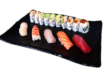 5Pc Sushi & Dragon Roll