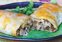 Chille Verde Burrito