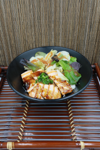 Salmon Teri Bowl