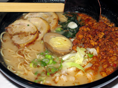 Spicy Pork Ramen