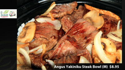 Korean B B Q Beef Bowl( Black Angus)
