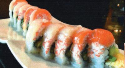Cherry Scallop Roll