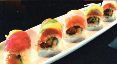 Fire Rainbow Roll
