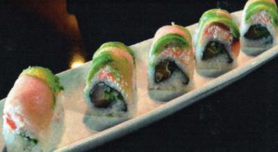 Hamachi Heaven Roll
