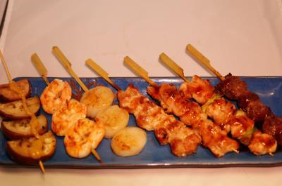 Kushiyaki Sampler
