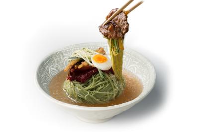 N02. Beef Bulgogi Wrap      Cold Noodle        육쌈 물냉면/소불고기