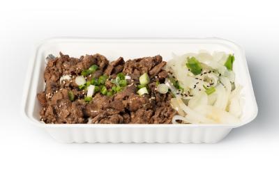 Beef Bulgogi Bowl    소 불고기 덮밥