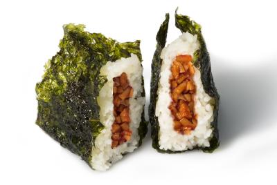 M08. Spicy Calamari Musubi      매운오징어 무수비