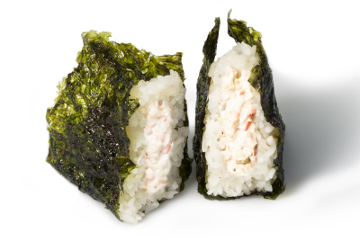 M06. Cream Shrimp Musubi       크림새우 무수비