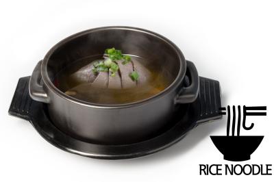 G. Beef Meat Soup      Brisket & Rice Noodle       양지곰탕 (쌀국수)