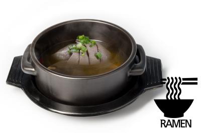 G. Beef Meat Soup      Brisket & Ramen      양지곰탕 (라면)