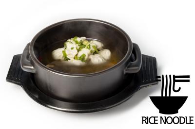 G. Beef Meat Soup       Dumpling & Rice Noodle      만두곰탕 (쌀국수)