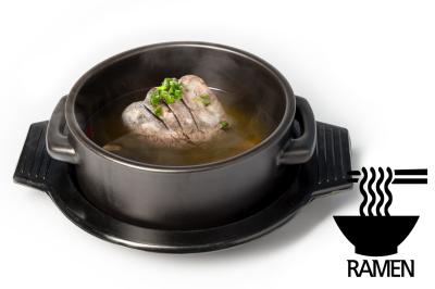 G. Beef Meat Soup      Brisket Point & Ramen       차돌곰탕 (라면)