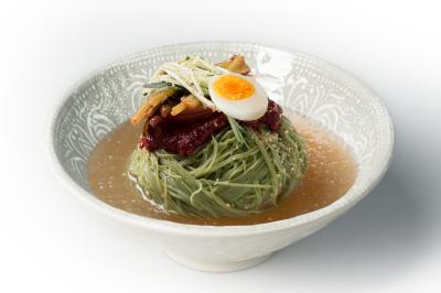 N01. Yeolmu Cold Noodle     열무 대나무 물냉면