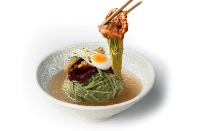 N03. Pork Bulgogi Wrap      Cold Noodle        육쌈 물냉면/돼지불고기