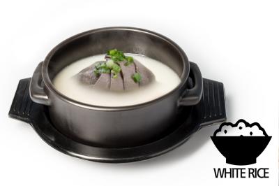 S. Beef Bone Soup      Brisket & Rice       양지설렁탕 (밥)
