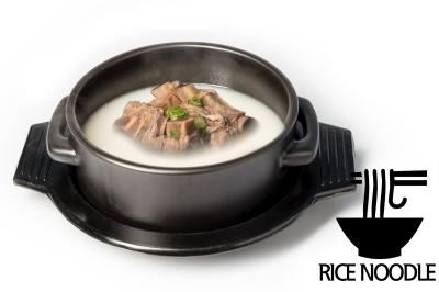 S. Beef Bone Soup      Beef Rib & Rice Noodle       갈비설렁탕 (쌀국수)