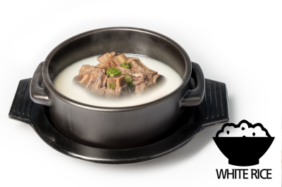 S. Beef Bone Soup      Beef Rib & Rice       갈비설렁탕 (밥)