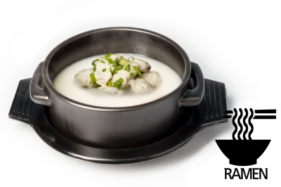 S. Beef Bone Soup       Dumpling & Ramen      만두설렁탕 (라면)