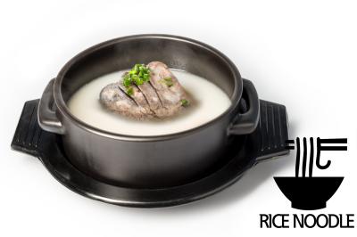 S. Beef Bone Soup      Brisket Point & Rice Noodle       차돌설렁탕 (쌀국수)