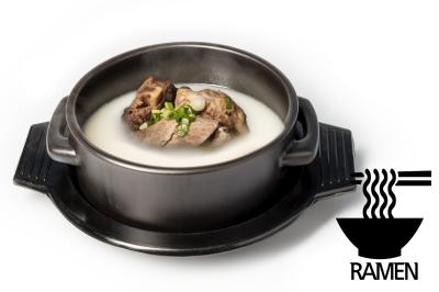 S. Beef Bone Soup       Mixed & Ramen       섞어설렁탕 (라면)