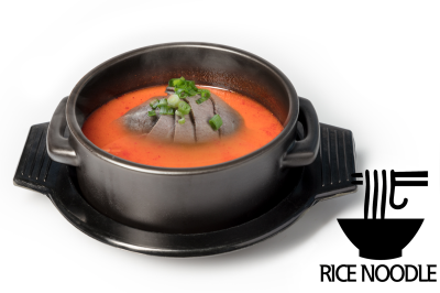 Y. Spicy Beef Bone Soup      Brisket & Rice Noodle       양지육개장 (쌀국수)
