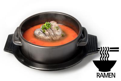Y. Spicy Beef Bone Soup      Brisket Point & Ramen       차돌육개장 (라면)