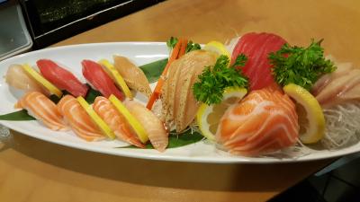 Sushi & Sashimi Dinner Combo