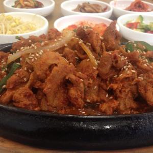 Spicy Pork Bulgogi Bbq