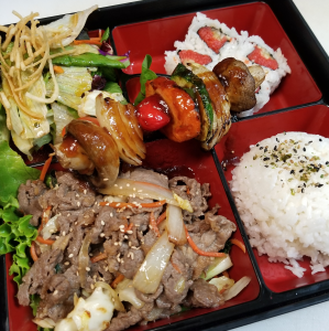2 Items Bento Box