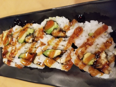 Eel & Avocado Roll