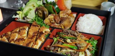 3 Items Bento Box