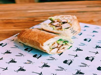 Peruvian Chicken Sub