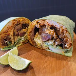 Galbi Kimchi Burrito