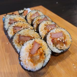 Spam Kimchi Roll