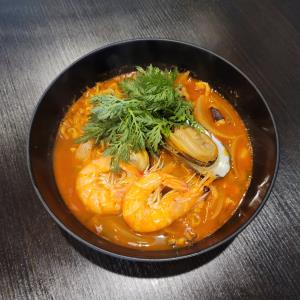 Spicy Seafood Ramen