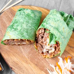 Bulgogi Kimchi Burrito
