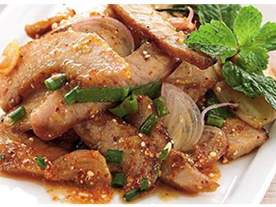 Marinated Pork Salad