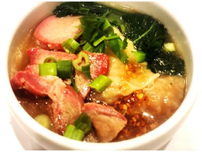 Wonton Soup + Noodle