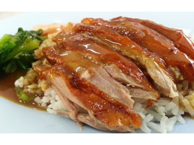 Duck Over Rice